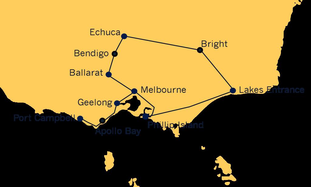 Melbourne Cup Tour Victoria 2021