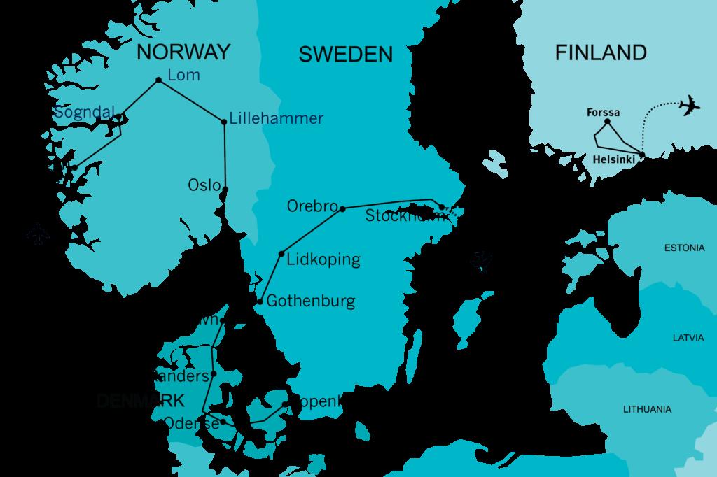 Quadrant Australia Farmers Tour to Scandinavia