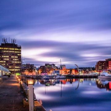 Hobart Waterfront - Tasmania Tour
