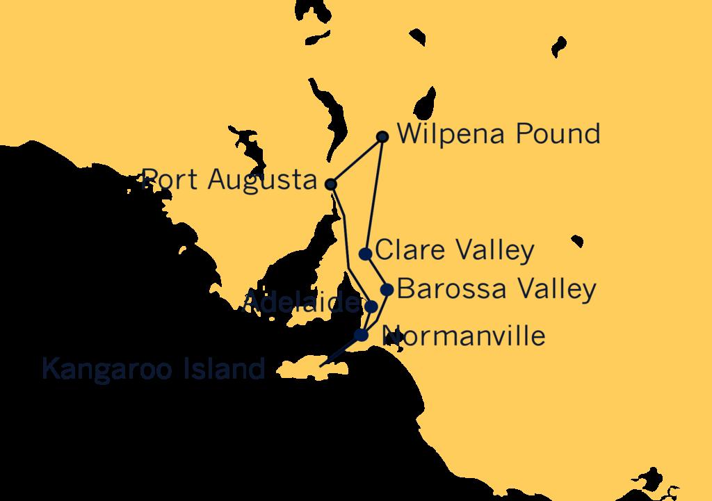 Quadrant Australia South Aus & Kangaroo Island